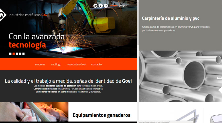 Govi release new website