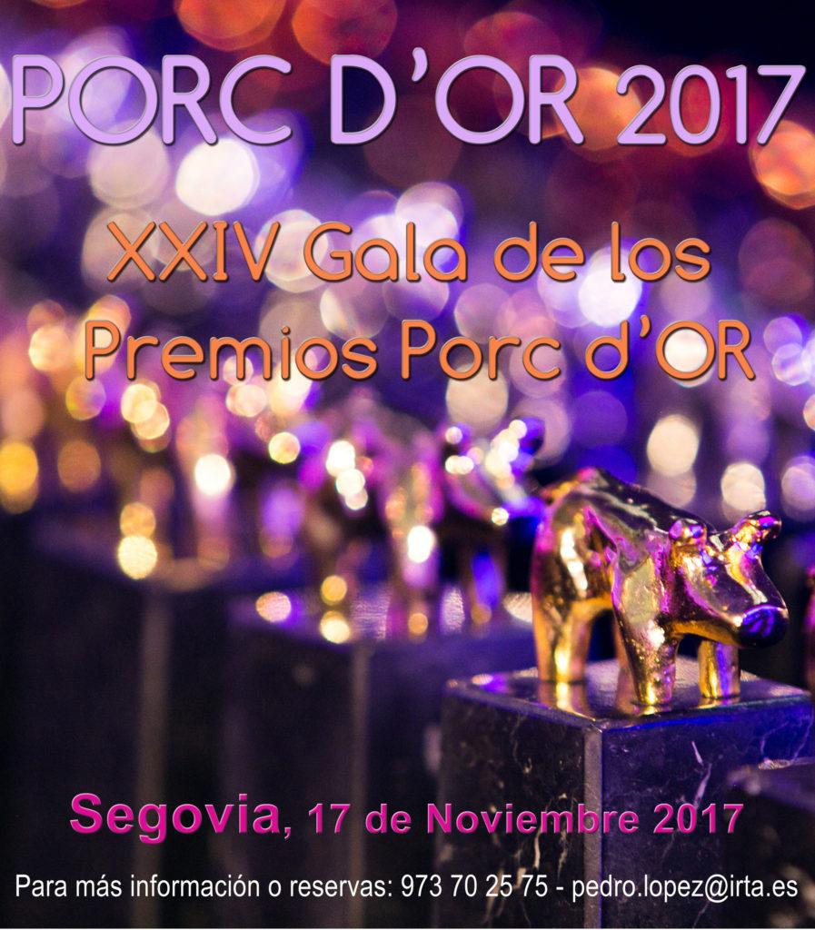 Premios Porc d'Or 2017