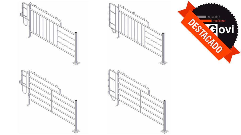 Nueva línea de jaulas de gestación 064-065-066-067