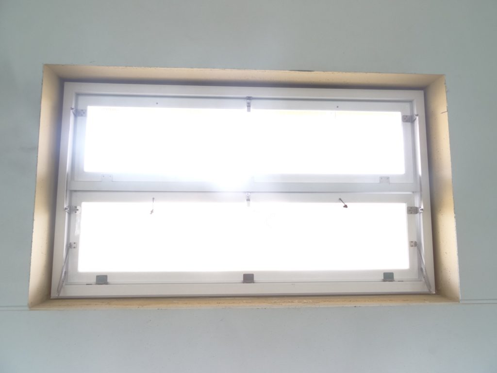 aluminum and PVC double sheet window